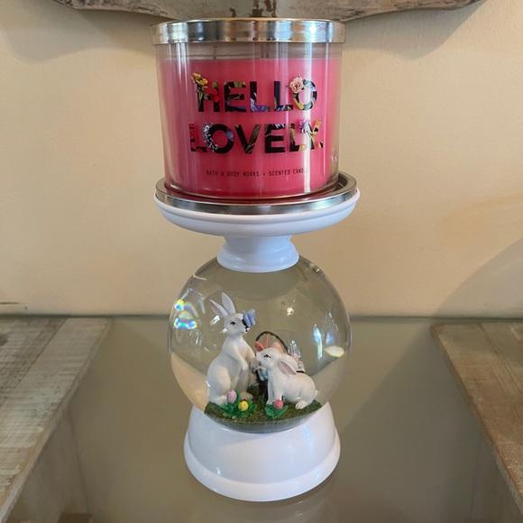 BBW Globe Candle Holder